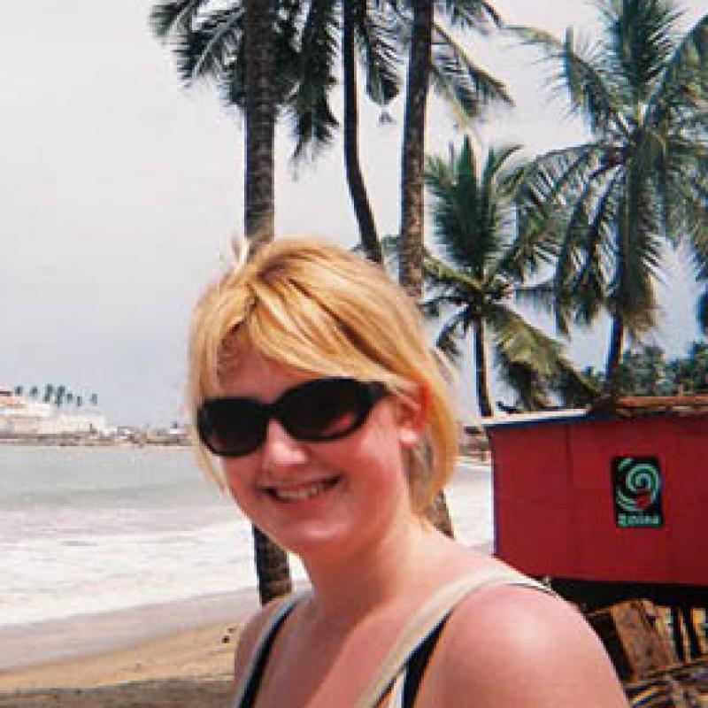 Katy A in Ghana